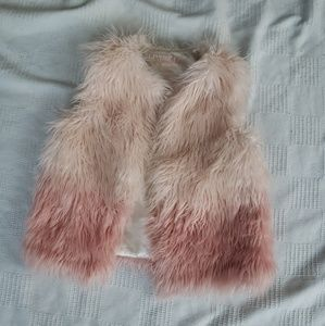 Furry Genuine kids vest